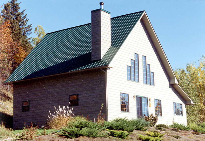 Knoxville tn roofing companies apple tree roofing for Vertical steel siding