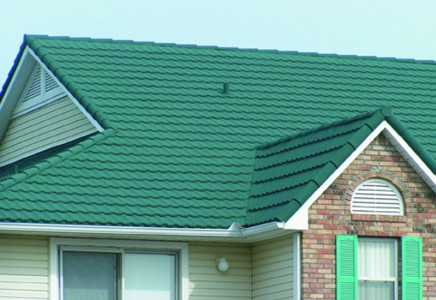 Captivating Standard Tile Roofs Can Be Heavy, Yet Fragile And Costly To Maintain. Metal  Tile, However, Has The Graceful Curves Of Classic Tile, But The Lightness  And ...