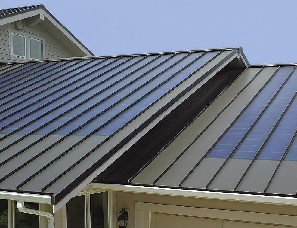 Englert Kynar Ultra Cool Low Gloss Metal Roof In Dark